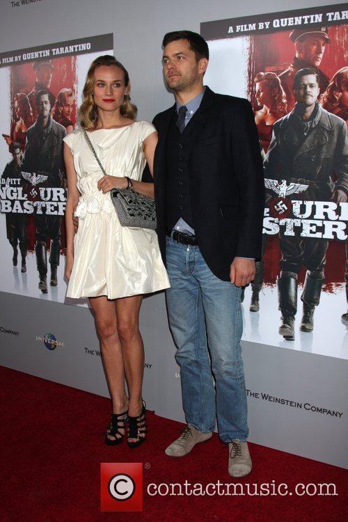 Diane Kruger & Joshua Jackson 'Inglourious Basterds' Blu-Ray...