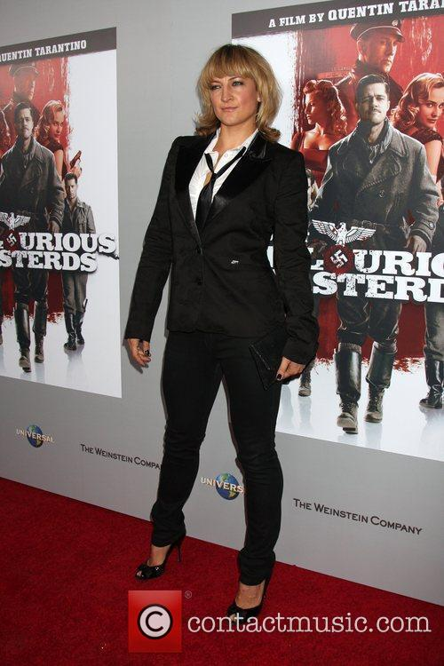 Zoe Bell 'Inglourious Basterds' Blu-Ray and DVD Launch...