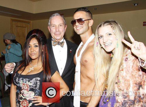 Nicole 'Snooki' Polizzi, Mayor Michael Bloomberg, Mike 'The...