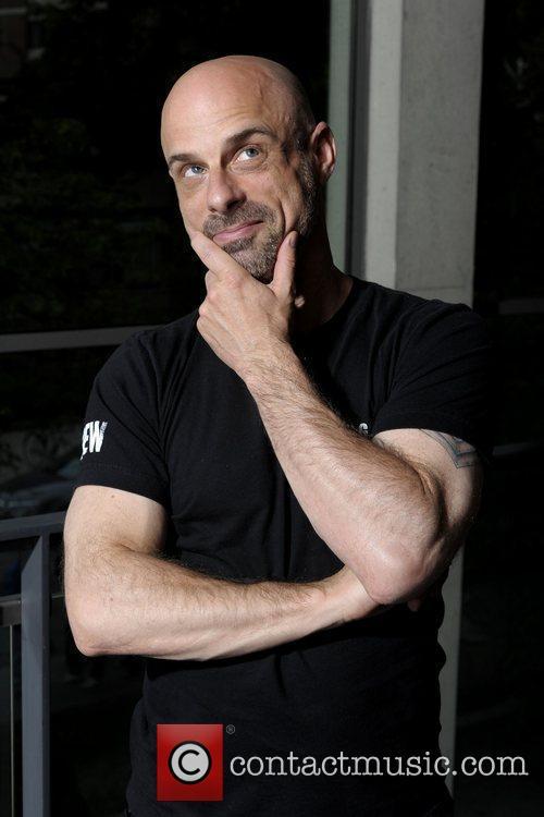 Bob Christie  poses for the filmmaker photo...