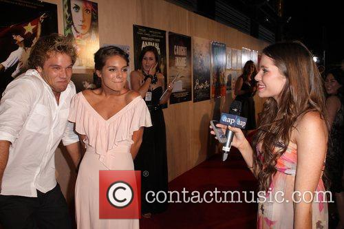 Lincoln Lewis and Caitlin Stasey The 2010 Inside...