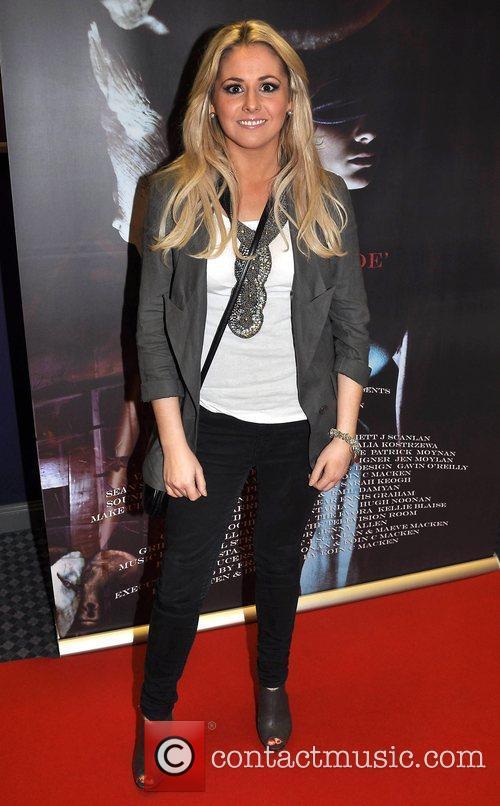 Aoiffe Madden Irish horror movie 'The Inside' premiere...