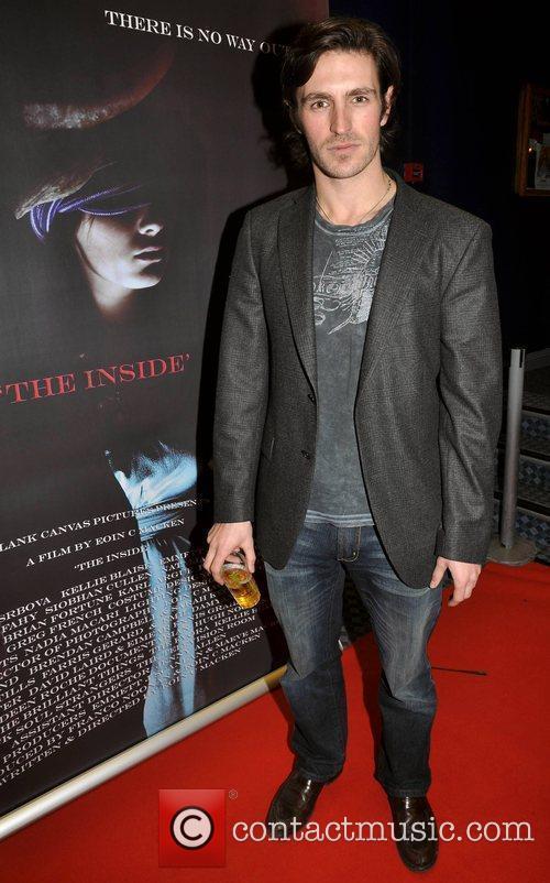Eoin Macken Irish horror movie 'The Inside' premiere...
