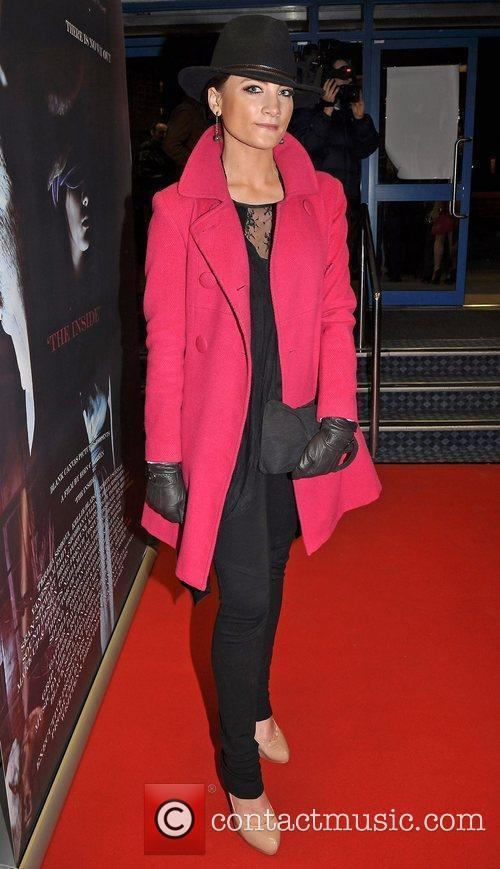 Laura Toogood Irish horror movie 'The Inside' premiere...