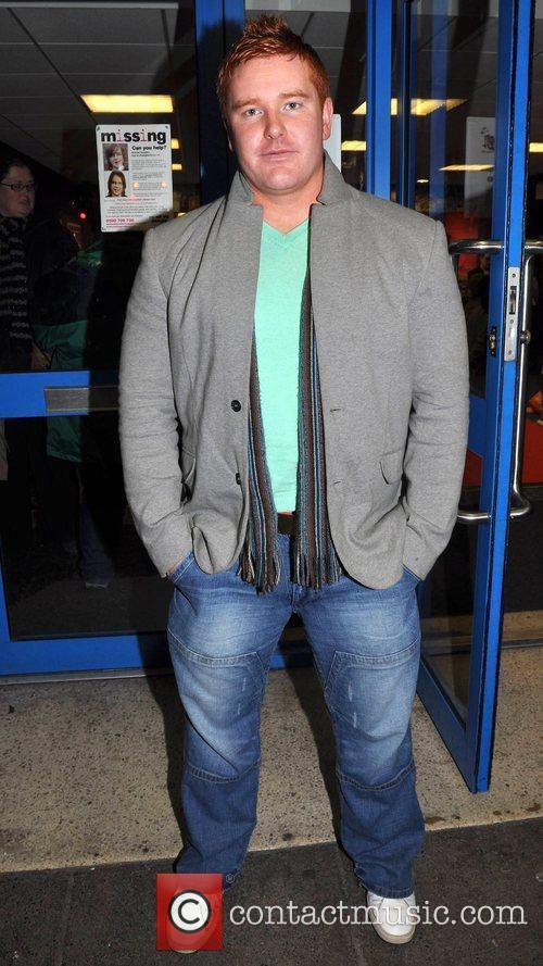 Stephen Higgins Irish horror movie 'The Inside' premiere...