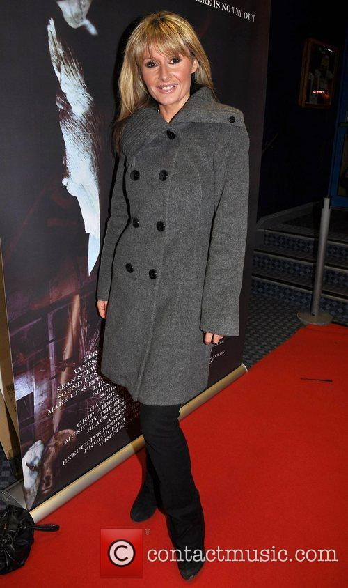 Tara Sinnott Irish horror movie 'The Inside' premiere...