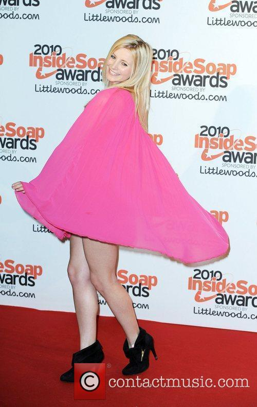 Carley Stenson The Inside Soap Awards 2010 -...