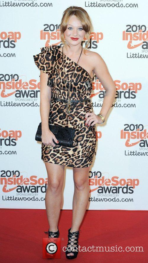 Kirsty Leigh Porter The Inside Soap Awards 2010...
