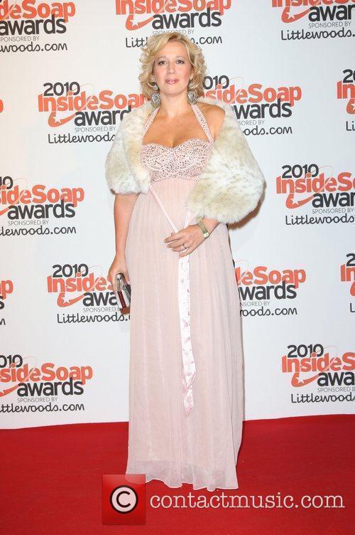 Katy Cavanagh The Inside Soap Awards 2010 -...