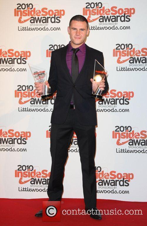 Danny Miller winner of Best Actor and Best...