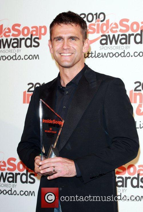 Scott Maslen winner of sexiest male The Inside...
