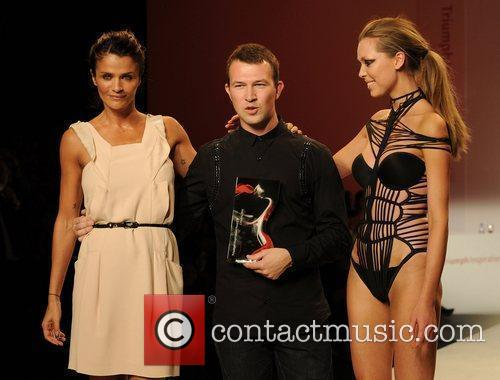 Winning designer Nikolay Bojilov Triumph Inspiration Awards 2010...