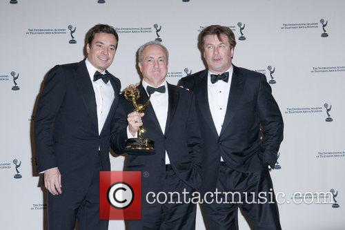 Jimmy Fallon, Alec Baldwin and Lorne Michaels 1