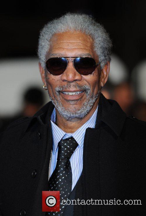 Morgan Freeman 'Invictus' UK premiere held at the...