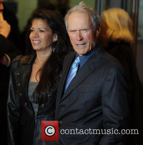 Clint Eastwood and Dina Eastwood 'Invictus' UK premiere...
