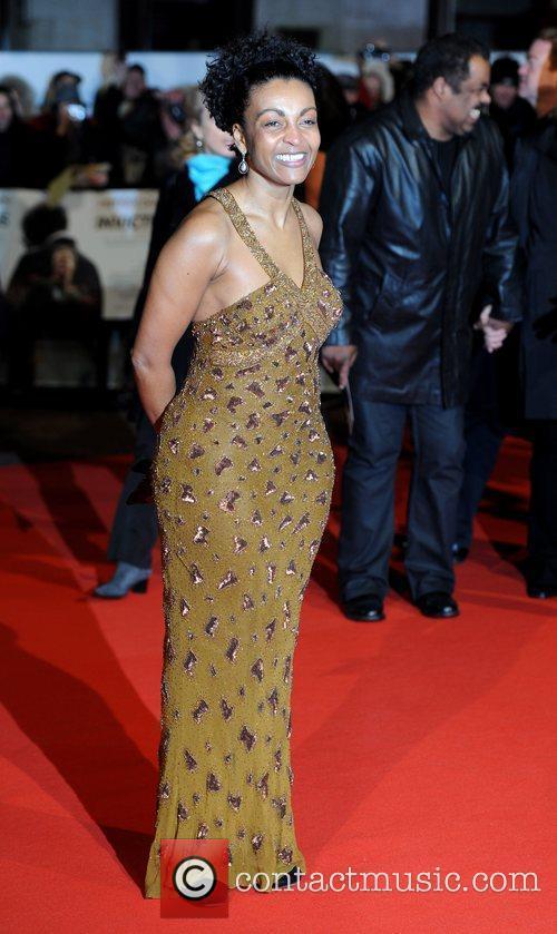 Adjoa Andoh 'Invictus' UK premiere held at the...
