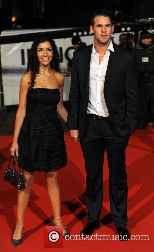 Guests 'Invictus' UK premiere held at the Odeon...