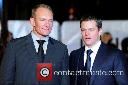 Matt Damon and Francois Pienaar 'Invictus' UK premiere...