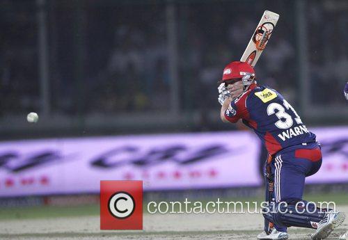 Delhi Daredevils player David Warner during the Delhi...