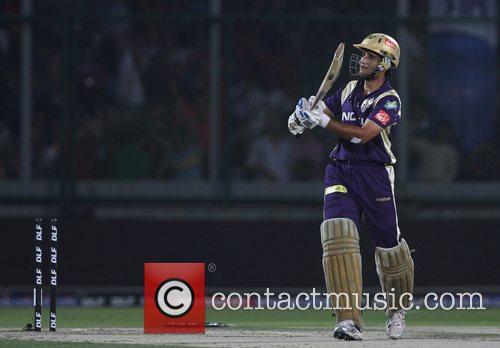 During the Delhi Daredevils v Kolkata Knight Riders...
