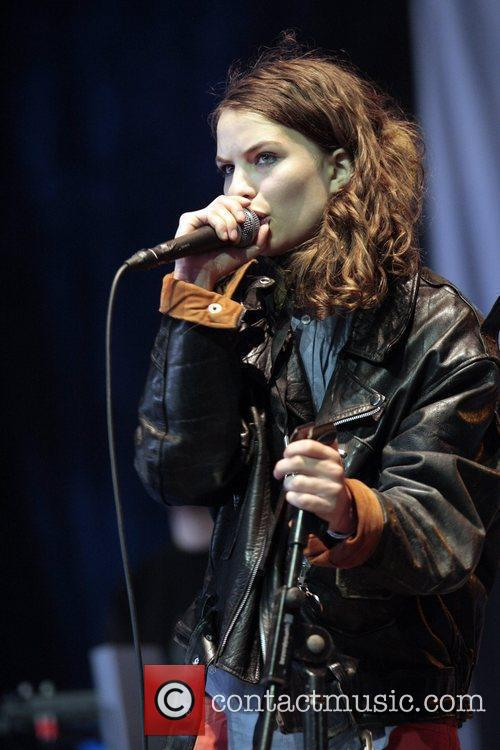 Coco Sumner The Isle Of Wight Festival at...