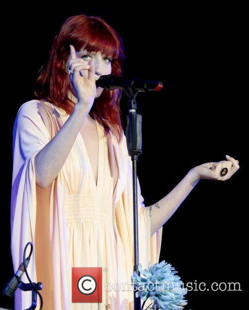 Florence Welch, Isle of Wight Festival