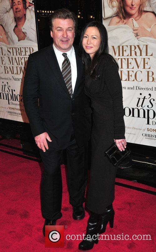 Alec Baldwin and Nicole Seidel 1