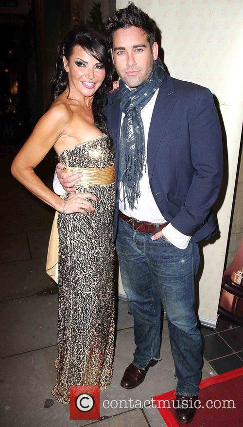 Lizzie Cundy & Gregory Vickers-Jones ITV At The...