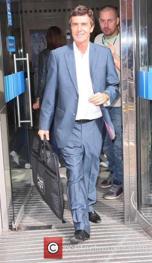 John Stapleton leaving the ITV Studios on the...