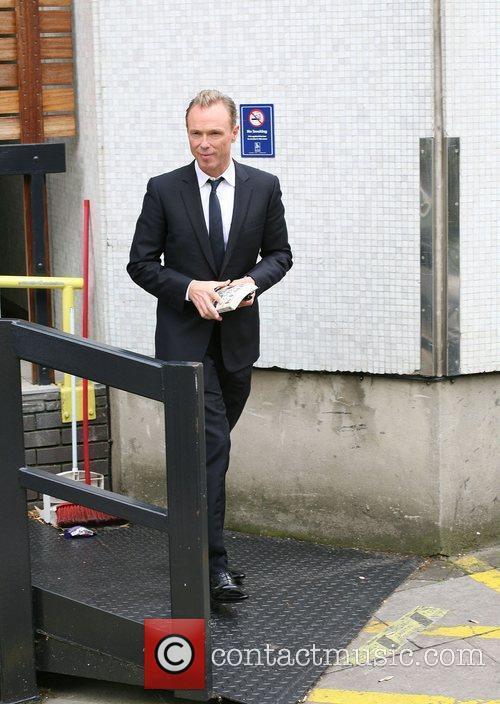Gary Kemp outside the ITV studios London, England