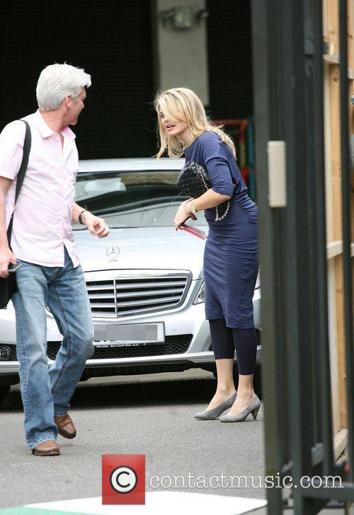Phillip Schofield and Holly Willoughby outside the ITV...