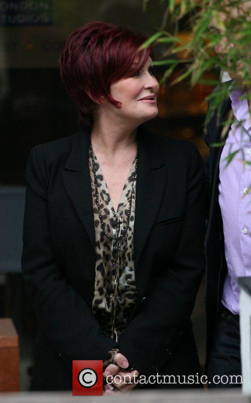 Sharon Osbourne outside the ITV studios London, England