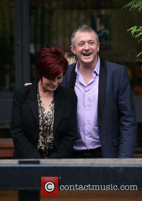 Sharon Osbourne and Louis Walsh 6