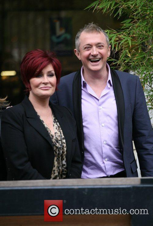 Sharon Osbourne and Louis Walsh 10