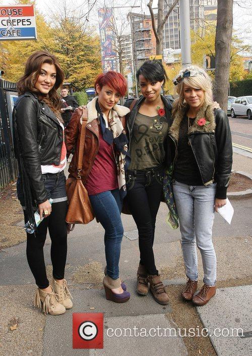 Geneva Lane, Rebecca Creighton, Esther Campbell and Sophia...