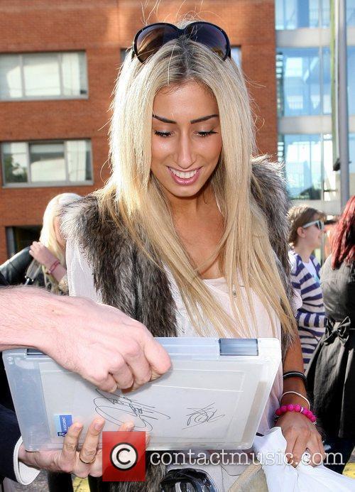 Stacey Solomon  outside the ITV studios London,...