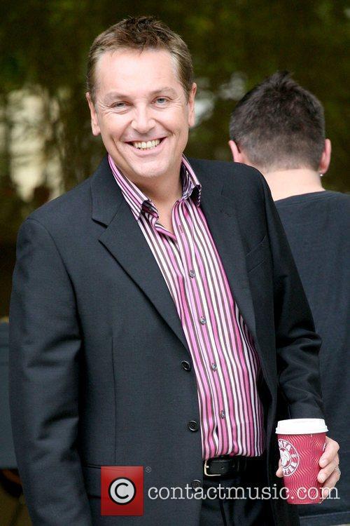 Brian Conley outside the ITV studios London, England