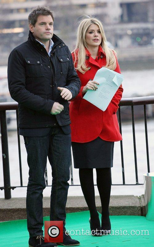 Holly Willoughby and Mark Durden-smith