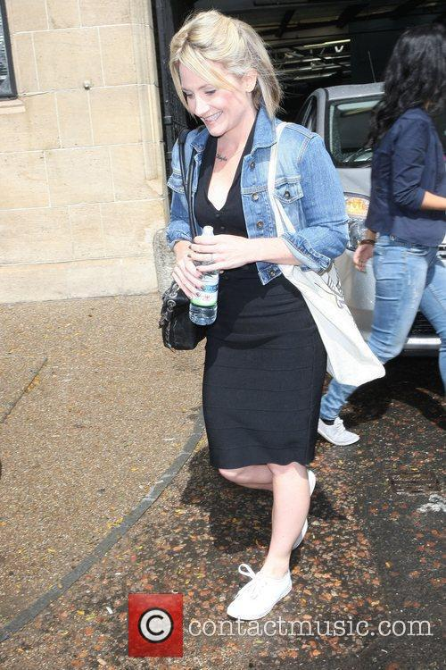 Lucy Speed outside the ITV Studios London, England...