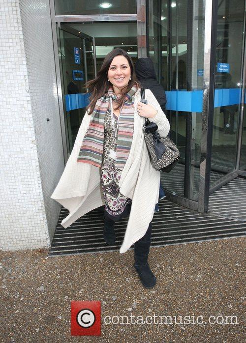 Claire Nasir leaving the ITV studios London, England