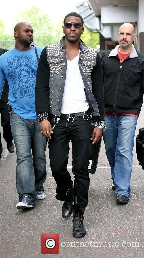 Jason Derulo Celebrities outside the ITV studios London,...