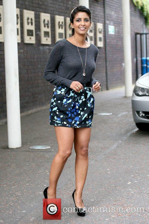 Konnie Huq Celebrities outside the ITV studios London,...