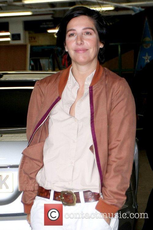 Sharleen Spiteri Celebrities outside the ITV studios London,...