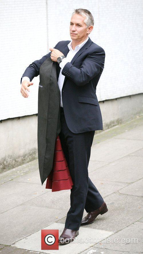 Gary Lineker is seen outside ITV studios. London,...