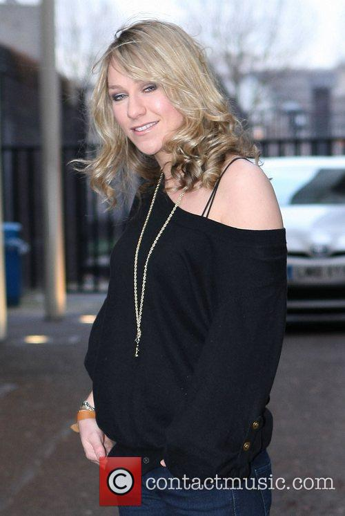 Chloe Madeley at the ITV studios London, England
