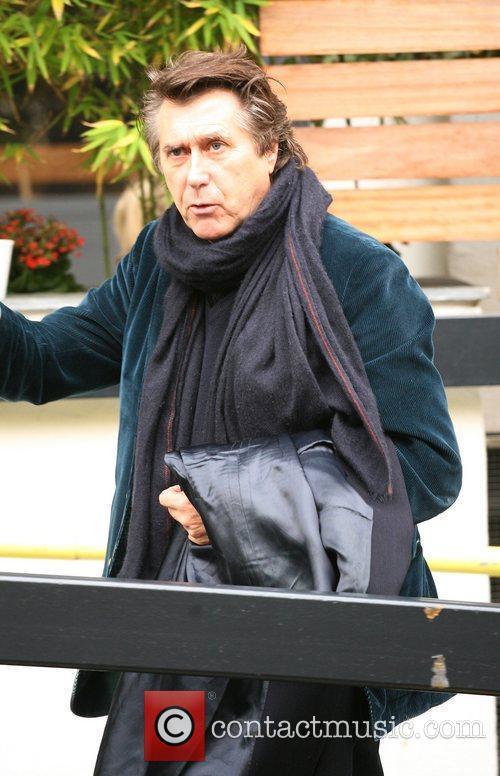 Bryan Ferry at the ITV studios London, England