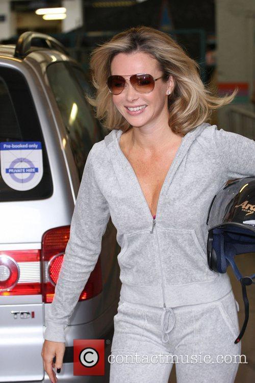 Amanda Holden leaving the ITV studios London, England