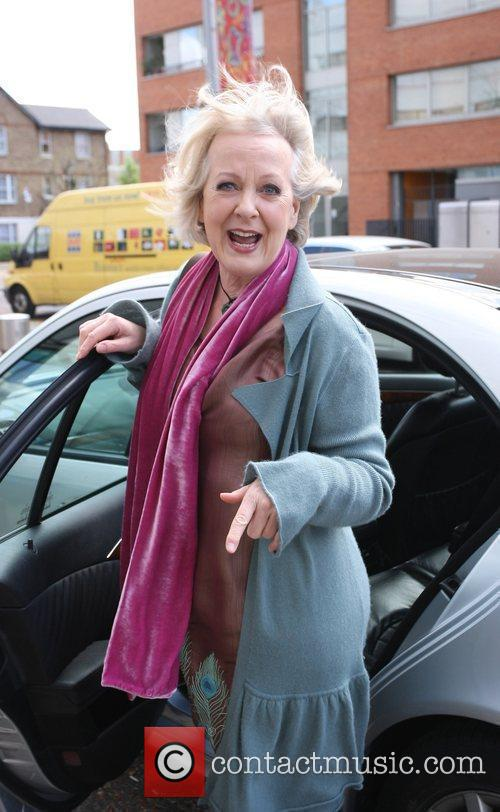 Susie Blake Celebrities outside the ITV television studios....