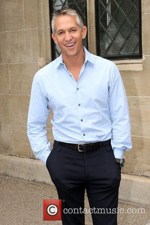 Gary Lineker seen leaving the ITV studios after...
