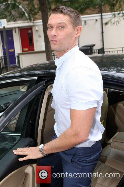 John Patridge seen leaving the ITV studios after...